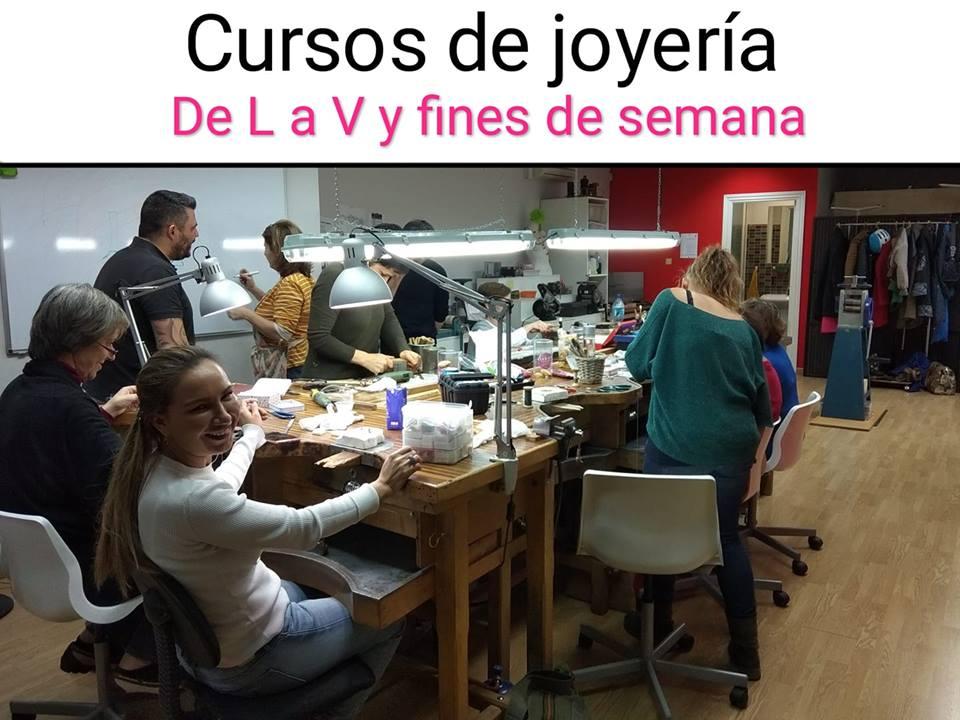 Clases y cursos de joyería en Madrid